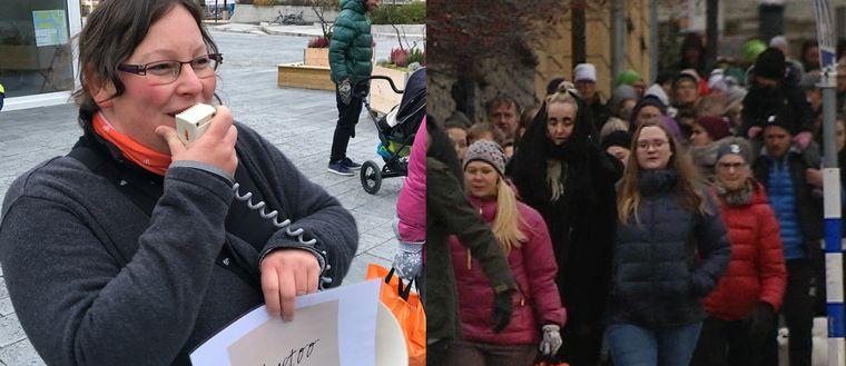 Manifestation #Metoo Östersund