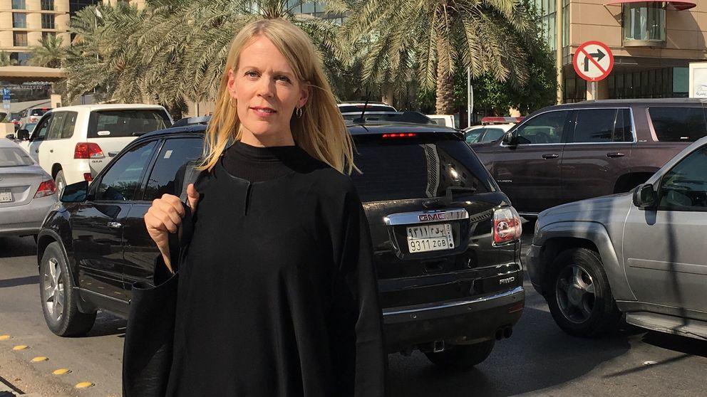 SVT:s korrespondent Stina Blomgren på plats i Riyadh, Saudiarabien.