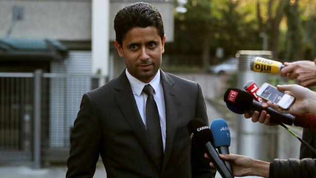 PSG:s ordförande åtalas för mutbrott