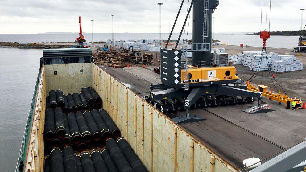 nordstream 2, karlshamns hamn, karlshamn, nord stream,