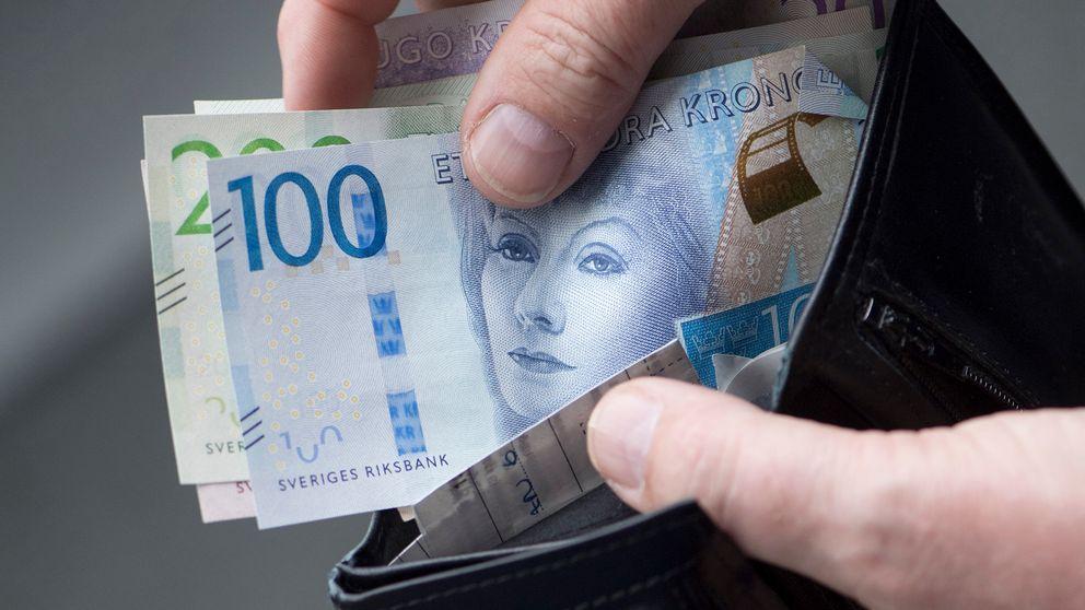 pengar kvinna daska nära Umeå
