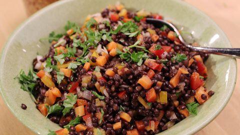 svarta belugalinser recept