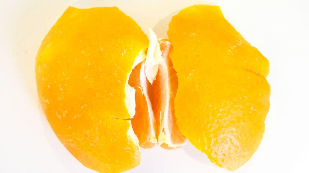 Fotomontage med clementin