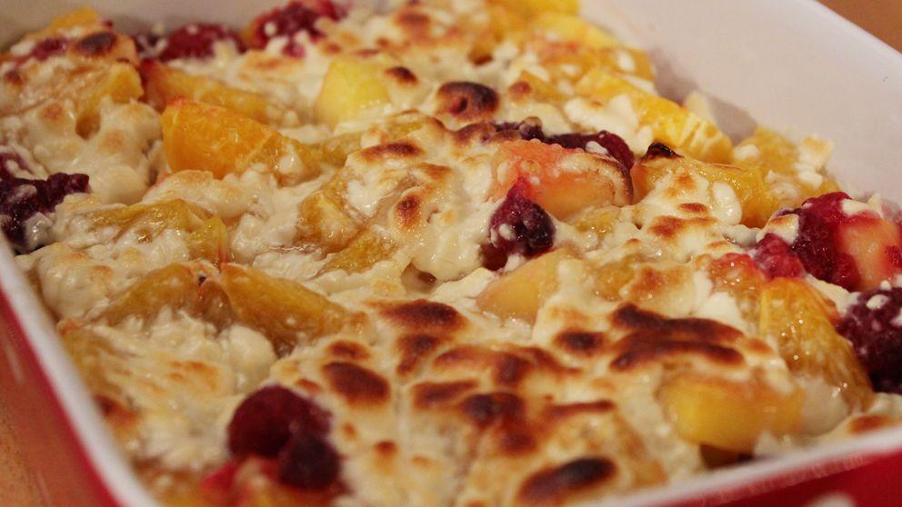 dessert med banan