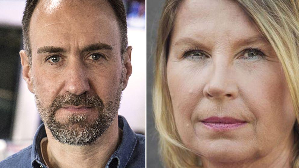 Michael Kucera, stf ansvarig utgivare och Charlotta Friborg, ansvarig utgivare, SVT Nyheter