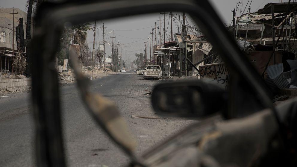 Här på gatorna styrde Islamiska staten med järnhand och utförde avrättningar offentligt.