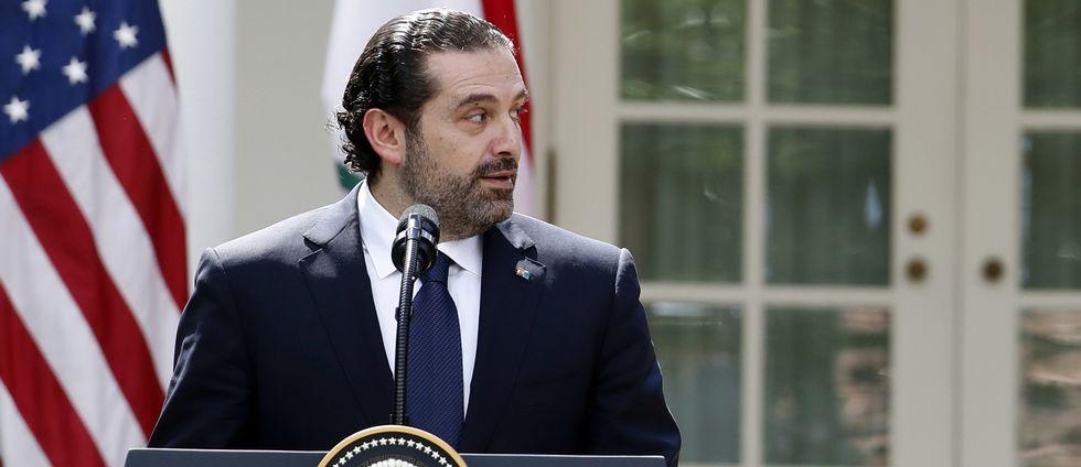 Libanons premiärminister Saad al-Hariri har tidigare meddelat sin avgång.
