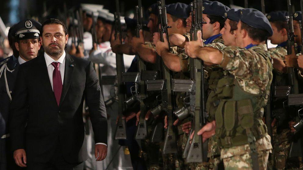 Libanons premiärminister Saad al-Hariri avgår.