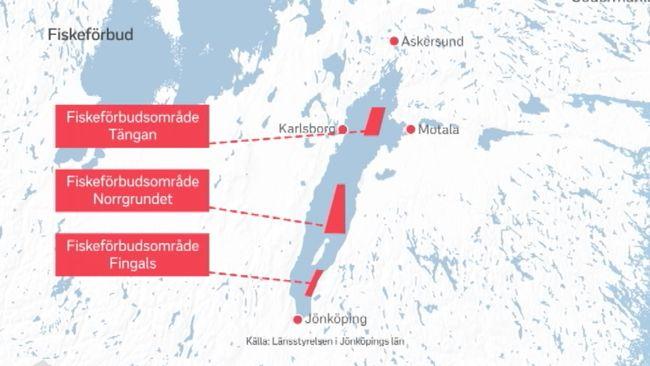 fiskezoner karta Provfiskeresultaten klara – rödingen har minskat i Vättern | SVT  fiskezoner karta