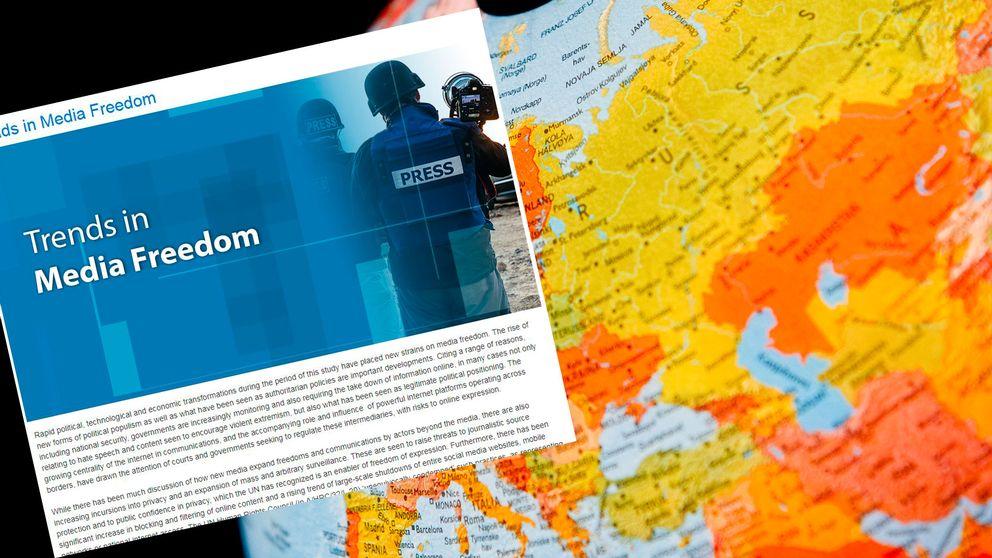 Unescos nya rapport om yttrande-och mediefriheten visar att möjligheten att ta del av medieinnehåll ökar i världen.