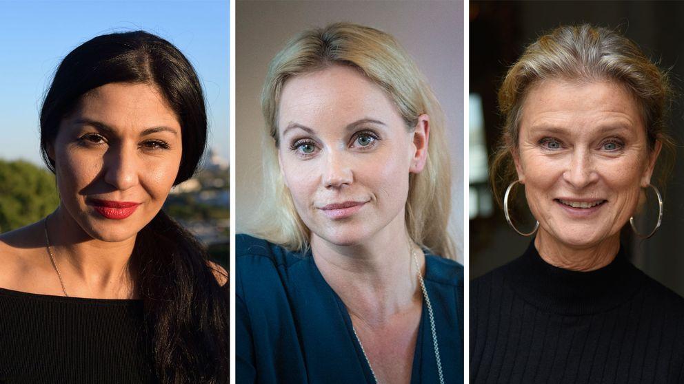 Bahar Pars, Sofia Helin och Lena Endre är tre av de sammanlagt 456 skådespelare som deltar i uppropet