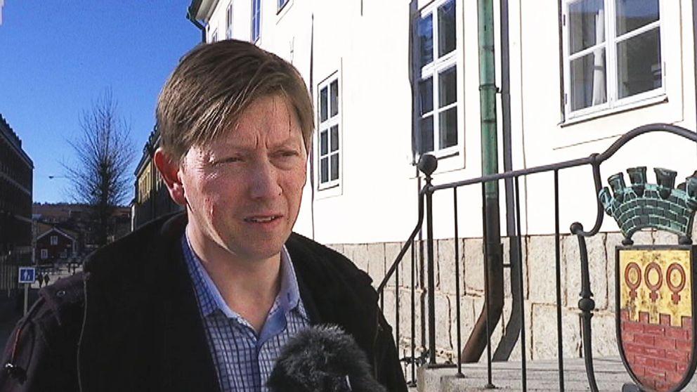 Joakim Storck (C) kommunalråd i Falun.