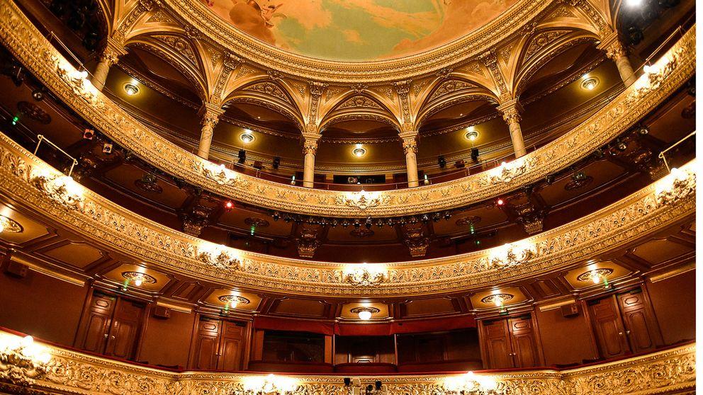 Kungliga Operan i Stockholm. Kvinnorna i teateruppropet är verksamma på en lång rad kulturinstitutioner.