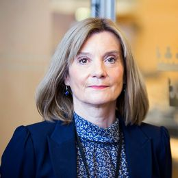 Riksdagsdirektören Kathrin Flossing
