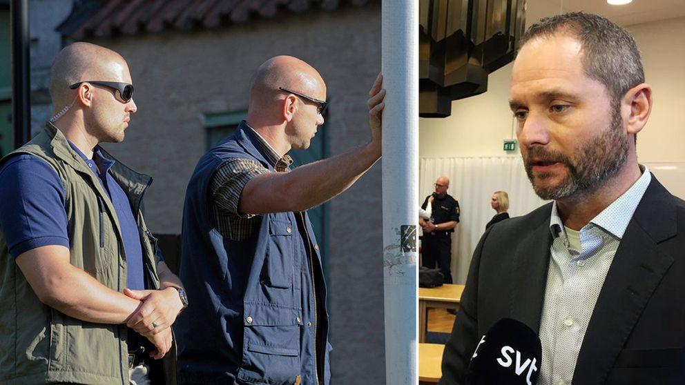 livvakter och Felix Andåker, Säpos kommenderingschef