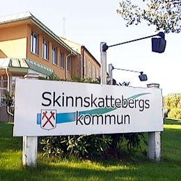 Kommunhuset i Skinnskatteberg.