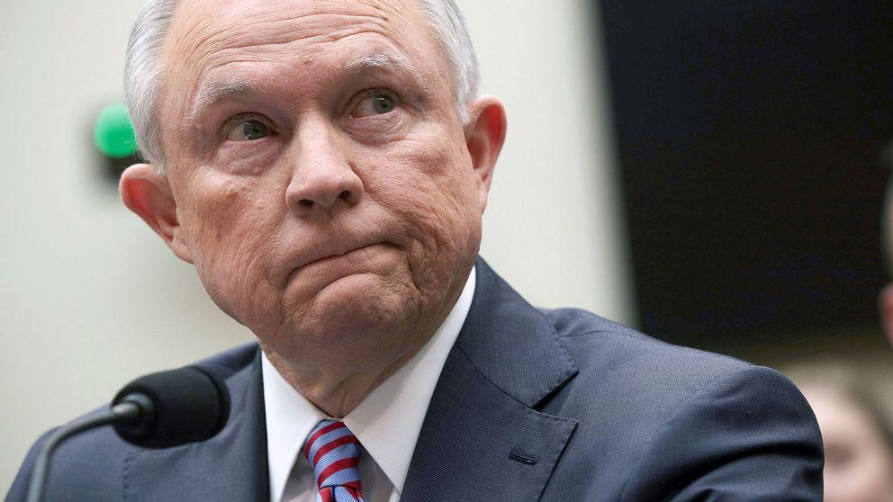 USA:s justitieminister Jeff Sessions i förhör inför representanthusets justitieutskott.