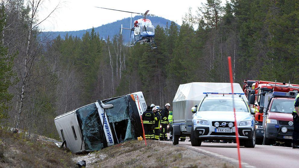 bussolyckan i Sveg