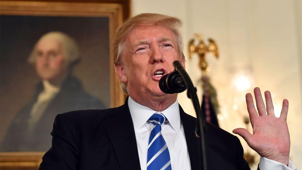 Donald Trump i Vita Huset