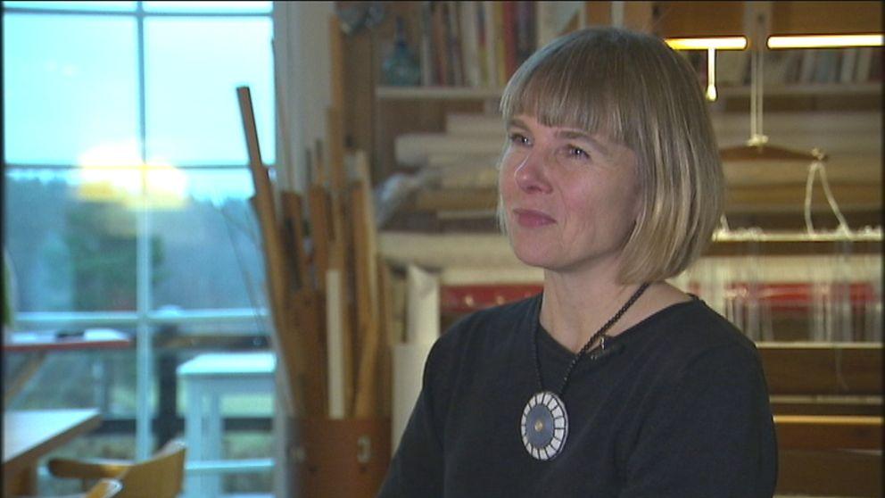 Helena Bengtsson har skrivit en bok om att sy väskor.