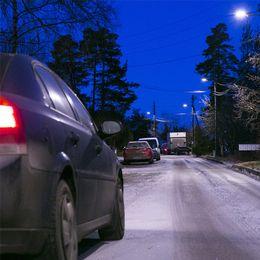 Det är halt på vägarna i landet.