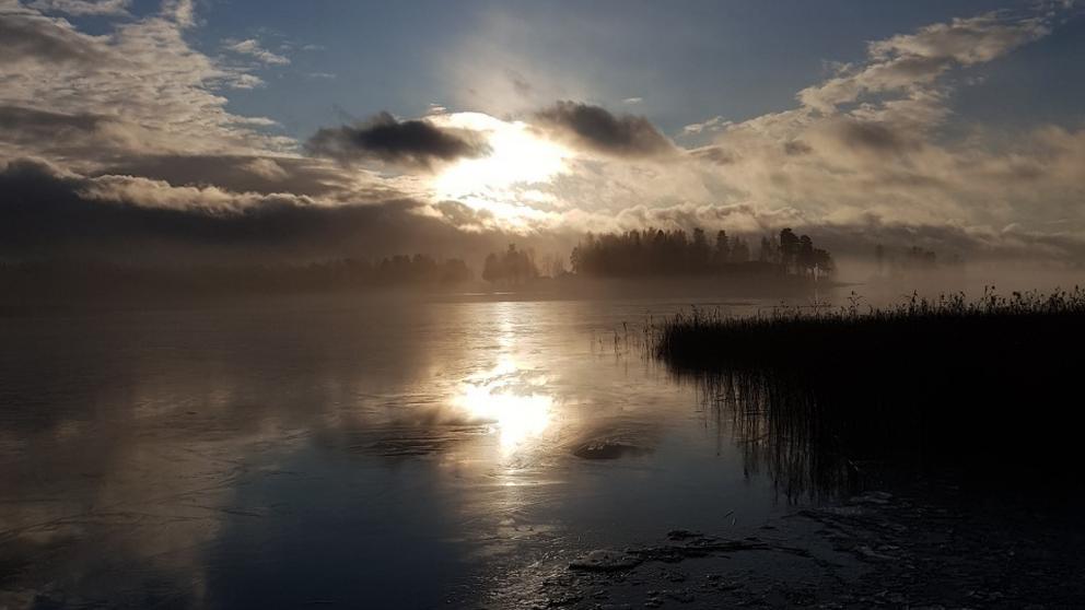 Storsjön i Sandviken.
