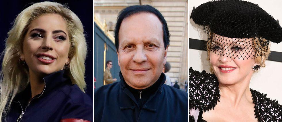 Lady Gaga, Azzedine Alaïa och Madonna.