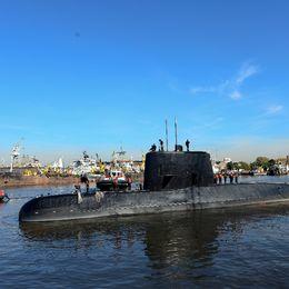 En försvunnen argentinsk ubåt.