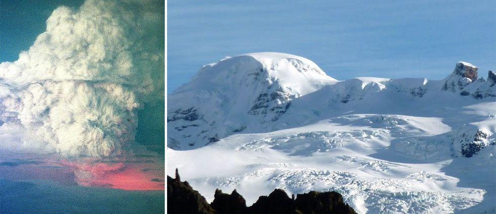 En av islands största vulkaner kan vakna