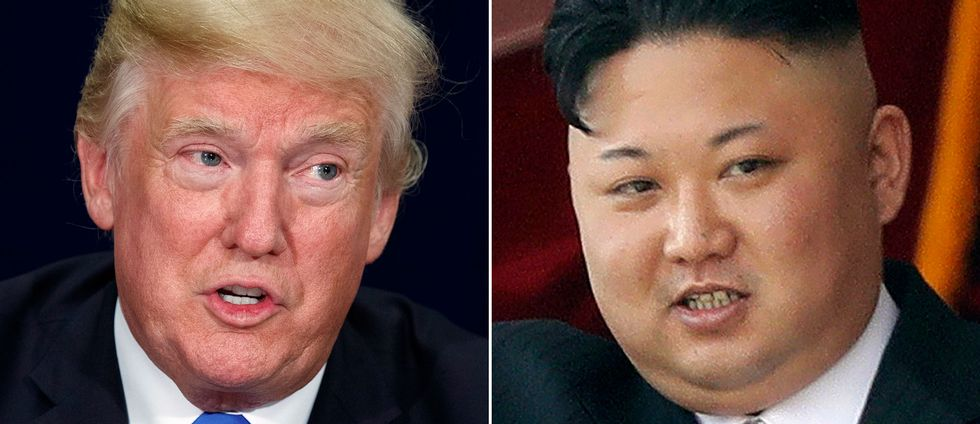 USA:s president Donald Trump och Nordkoreas ledare Kim Jong-Un