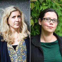 Amanda Svensson, Elise Karlsson och Lena ten Hoopen
