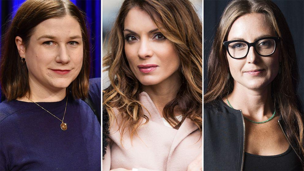 Kristin Lundell, Alexandra Pascalidou och Sanna Lundell är några av de journalister som skrivit under uppropet. Alla vittnesmål är anonyma.