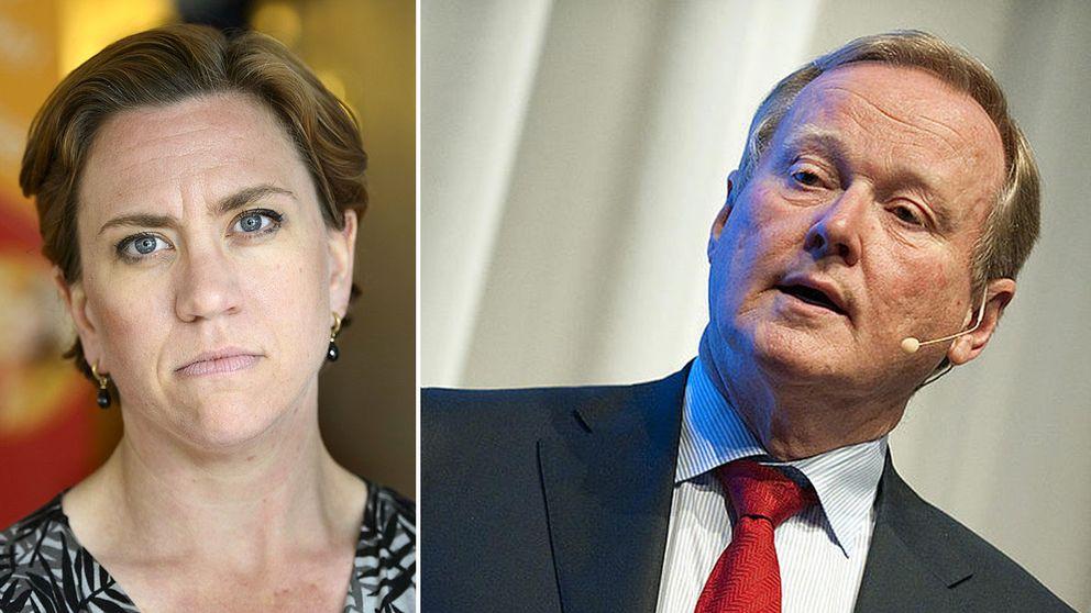 Maria Mattsson Mähl och Leif Östling