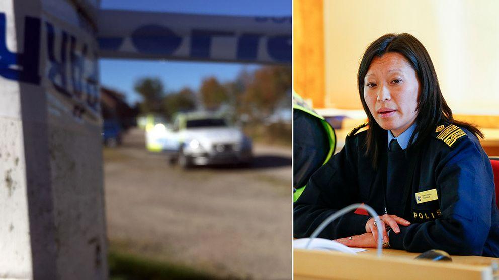 Helena Trolläng, chef för polisens utredningsenhet region Väst.