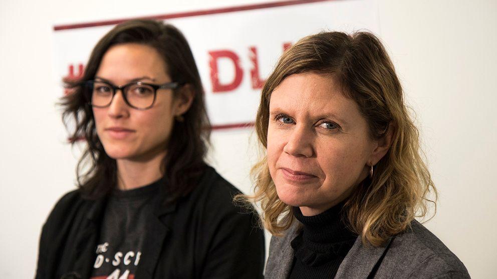 Astrid Iselidh och Lotta Sandhammar, SVT Nyheter Uppsala, har skrivit under uppropet #Deadline.