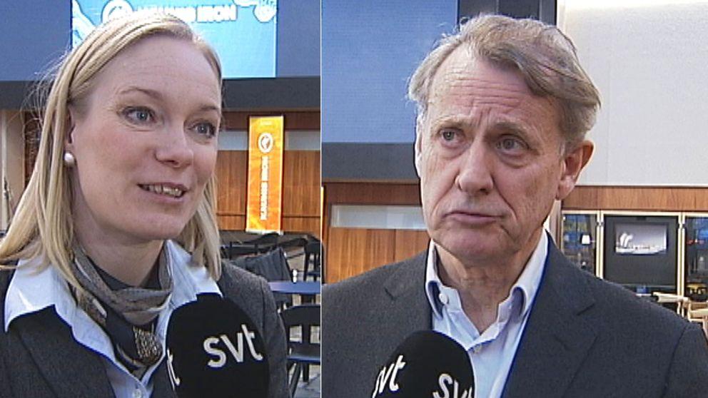 Gruvan i Pajala ska öppna till sommaren om allt går enligt planerna. Åsa Allan, platschef vid Kaunis Iron, och Anders Sundström, styrelseordförande i det nybildade bolaget, var med vid presskonferensen i Luleå.
