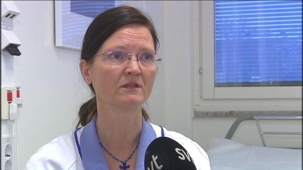 Överläkare Ingunn Granum.
