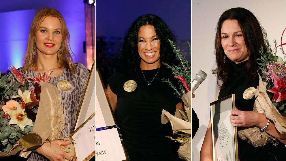 Emma Frans, Magda Gad och Åsa Erlandsson prisas på Stora Journalistprisets gala under torsdagskvällen.