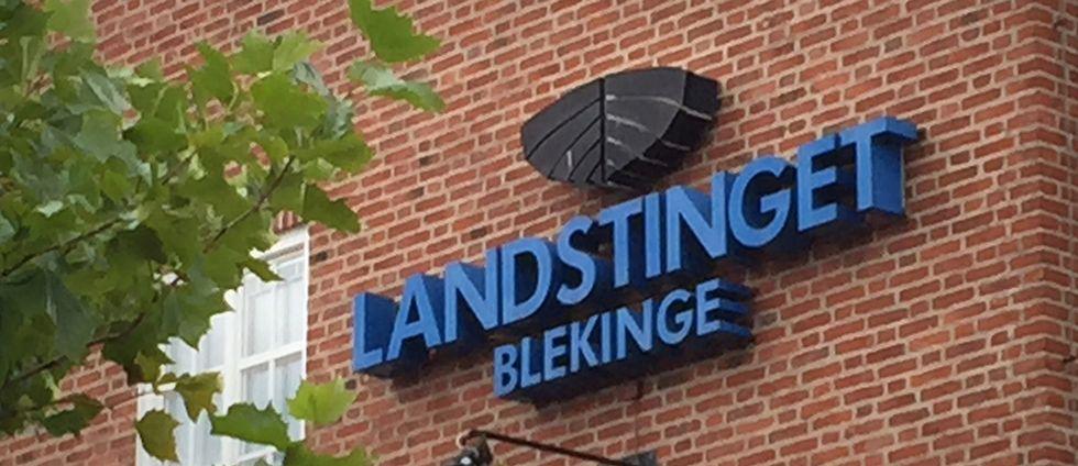 landstinget blekinge