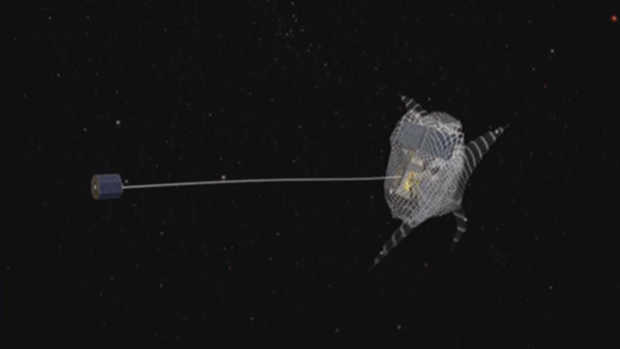 Satelliter krockade i rymden