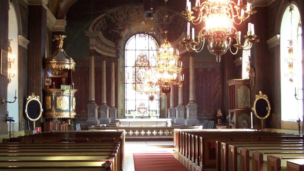 kyrkorum interiör