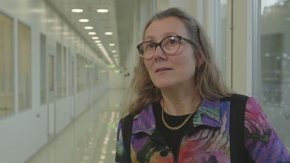 Solcellsforskare och professor vid Uppsala Universitet Marika Edoff