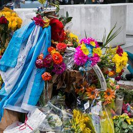 Minnesplats för offren på Manhattan