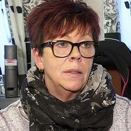kvinna i närbild på kontor