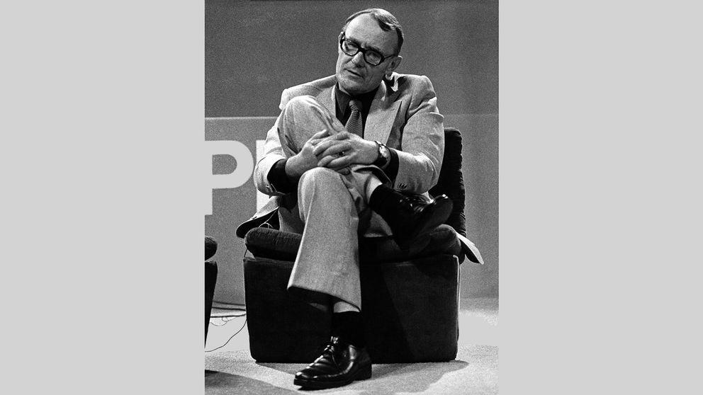 Ingvar Kamprad 4 september 1974, året efter att det första Ikea-varuhuset utanför Skandinavien hade öppnats, i Schweiz.
