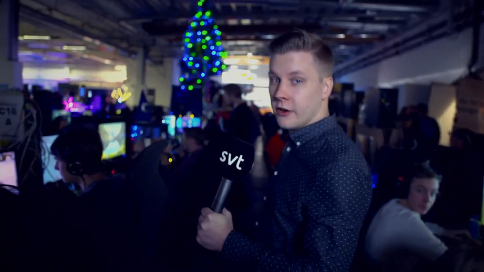 Petter Sjöstrand på Dreamhack Winter 2017.