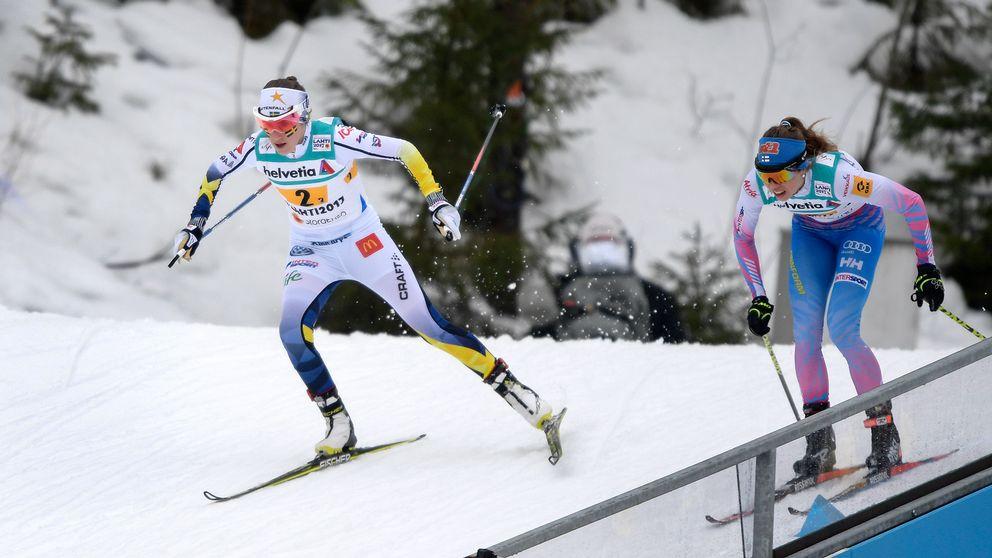 Ebba Andersson passerar Mononen