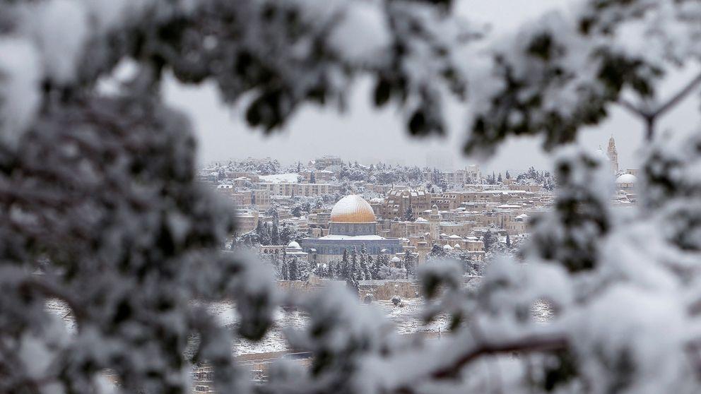 Jerusalem i snö