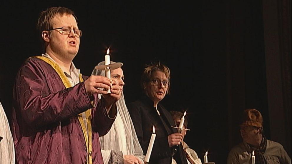 """Premiär i morgon på Nyckelteaterns uppsättning av Charles Dickens """"En julsaga""""."""