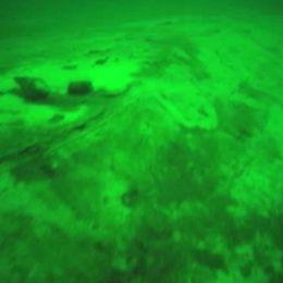 Gipsplattan täcker havsbottnen söder om Ven. Djur och växtlivet är helt dött.